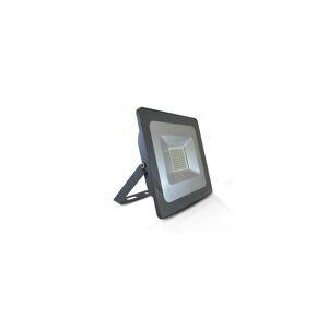 VISION EL Projecteur extérieur LED plat 50W 3000°K - Gris - Publicité