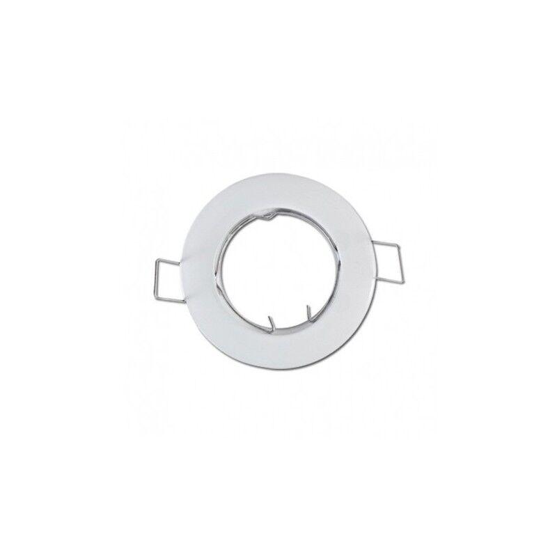 VISION EL Support plafond rond blanc Ø77mm