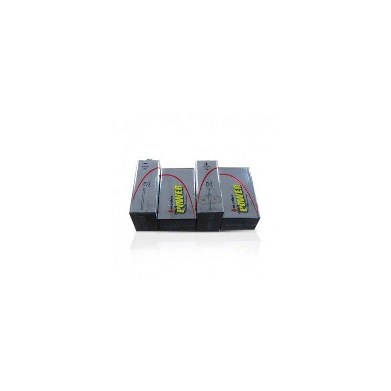 VISION EL Piles LR61 9V super lithium - SUNDEX