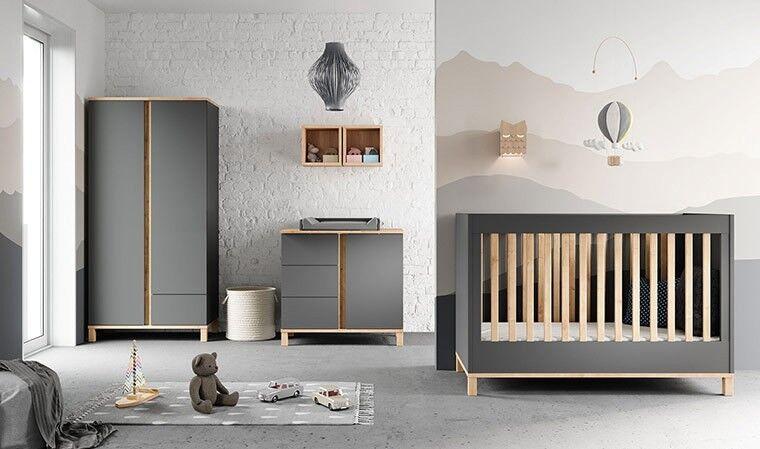 Chambre bébé design complète 60 x 120 cm - Altitude
