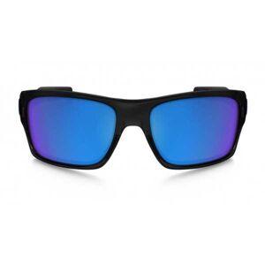 Oakley Turbine noir lentilles sapphire iridium - Publicité