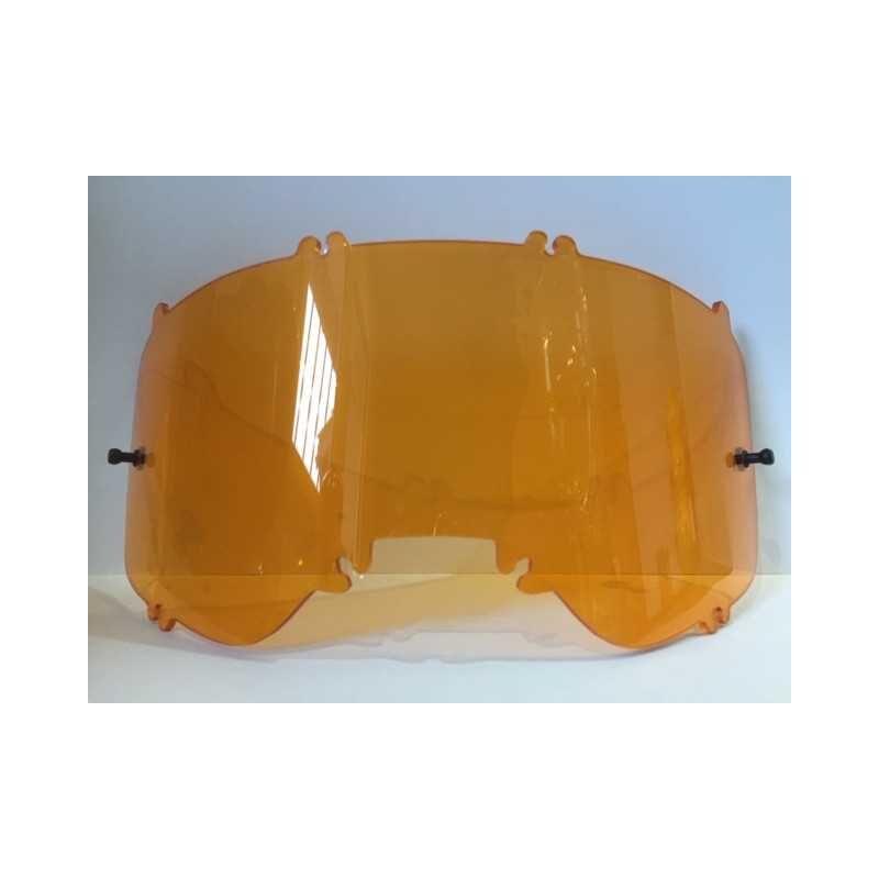 FOX Racing Ecran polycarbonate injecté Fox AIRSPACE / MAIN ll orange