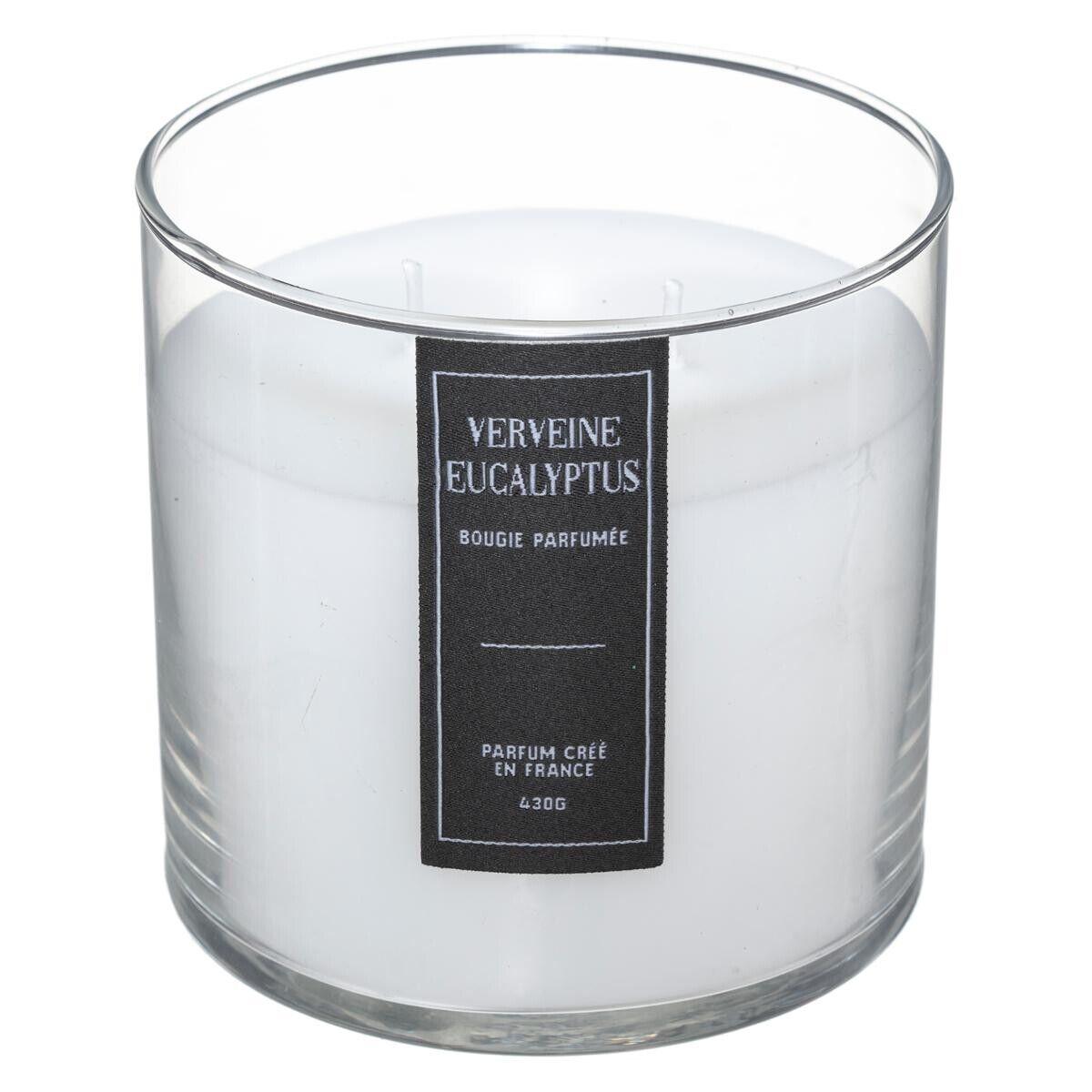 """Atmosphera Bougie parfumée """"Sili"""", verveine - eucalyptus 430g"""