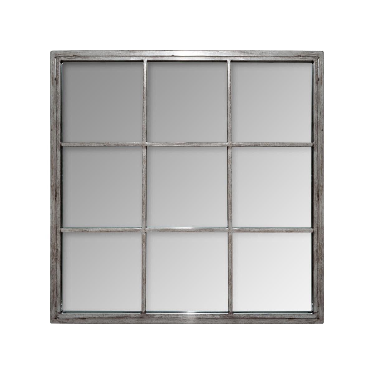 Atmosphera Miroir 'Sully' en métal 64x64 cm
