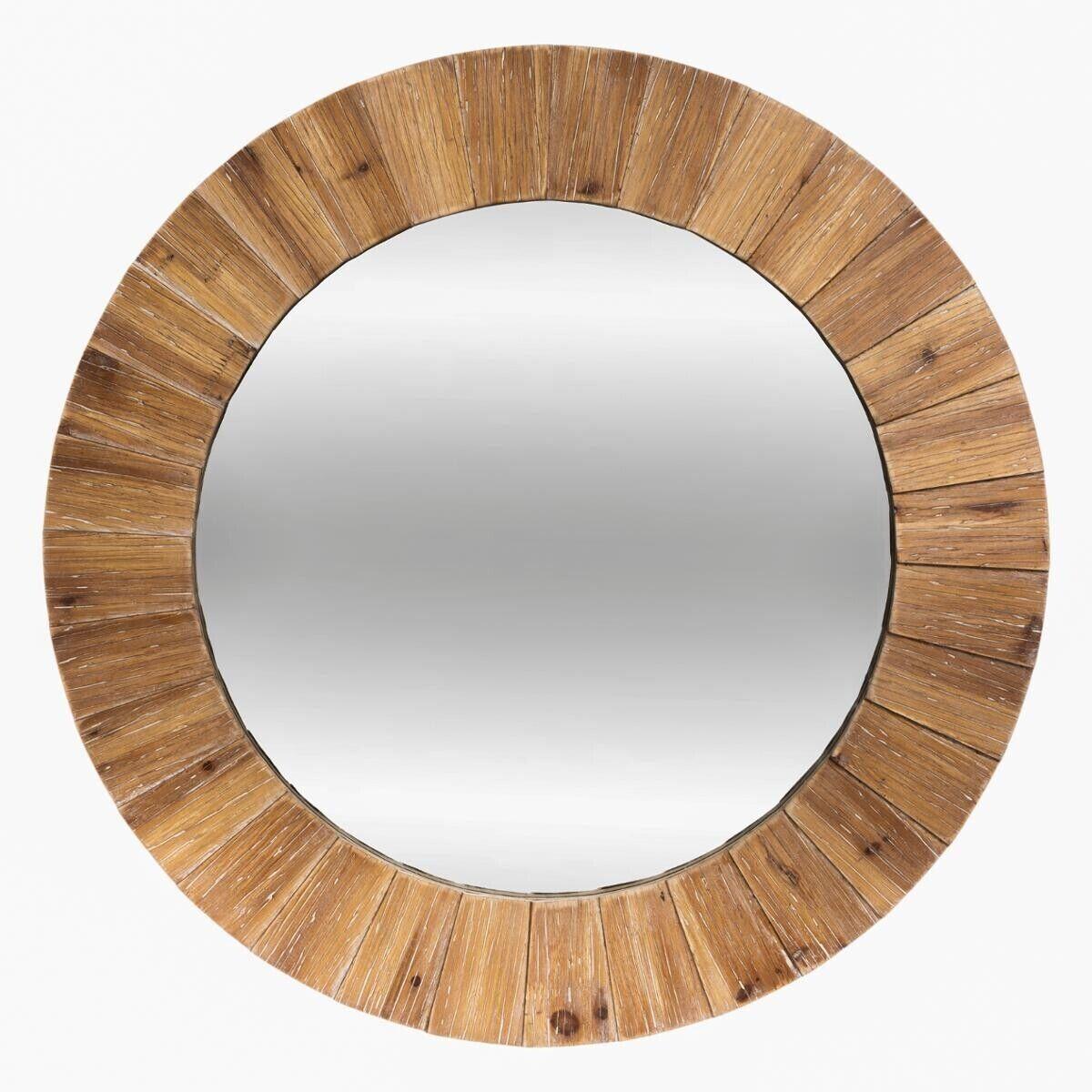 Atmosphera Miroir en bois D83 cm
