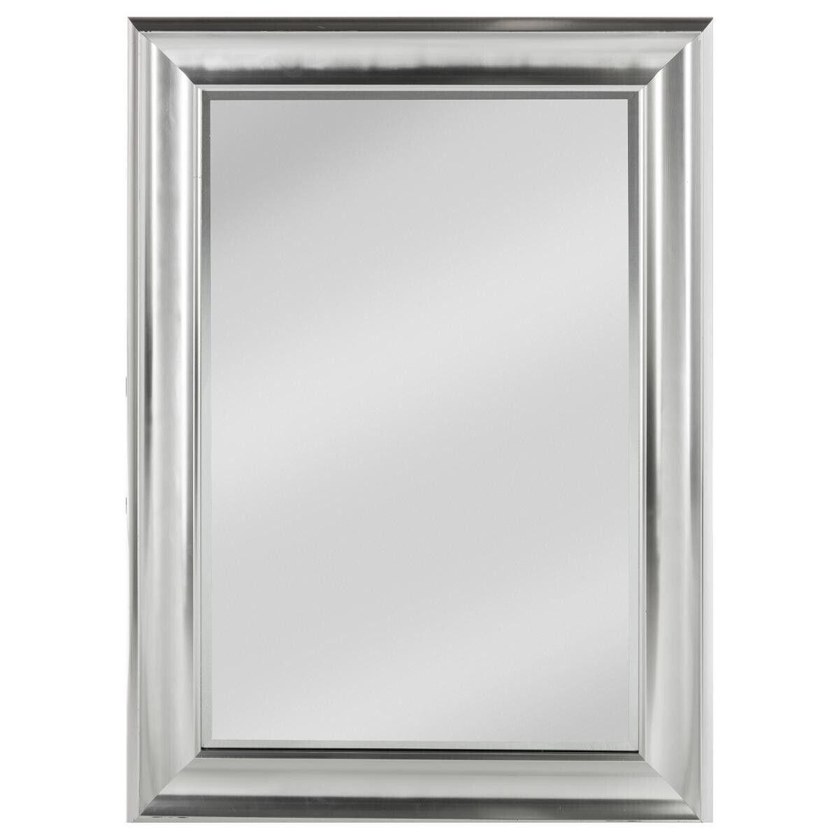 Atmosphera Miroir argenté à moulures 78x108 cm