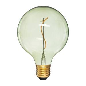 """Atmosphera Ampoule LED """"Globe"""" verte, filament torsadé E27 - Publicité"""