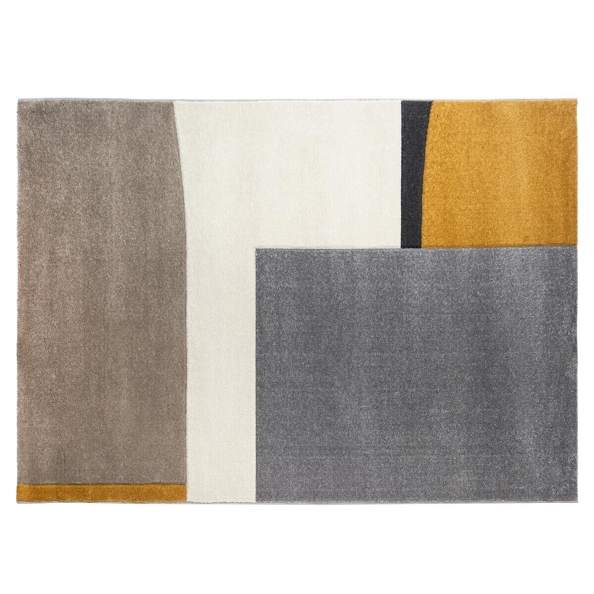 "Atmosphera Tapis ""Relief"" abstrait 160x230 cm"