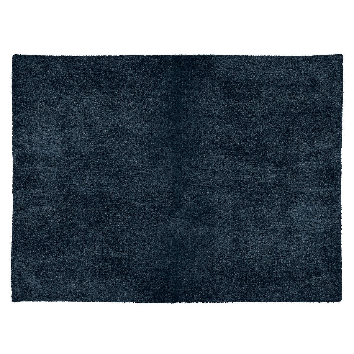 """Atmosphera Tapis reflet """"Joanne"""", bleu encre 120x170 cm"""