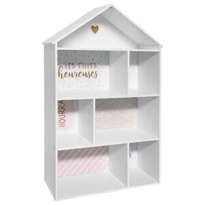 Atmosphera Bibliothèque enfant maison rose - Publicité