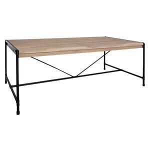 """Atmosphera Table à manger""""Siam"""", fer bois d'acacia - Publicité"""