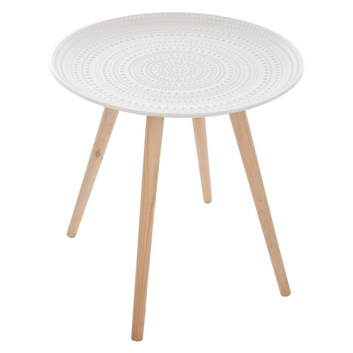 """Atmosphera Table à café """"Mileo"""" D50 cm"""