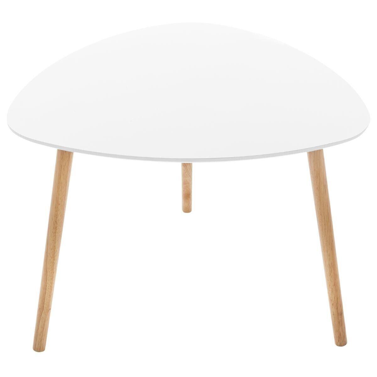 """Atmosphera Table à café """"Mileo"""" blanche"""