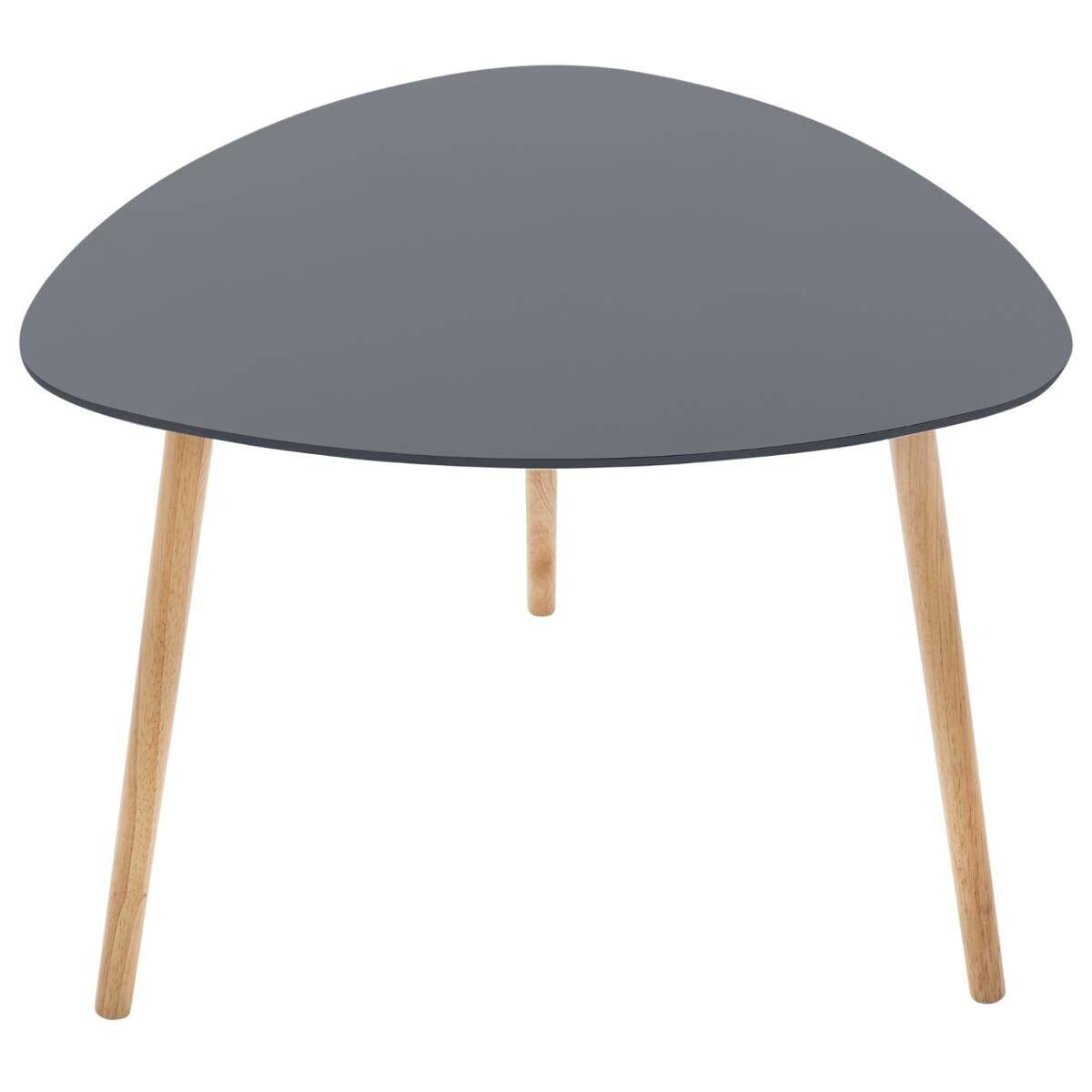 """Atmosphera Table à café """"Mileo"""" gris foncé"""