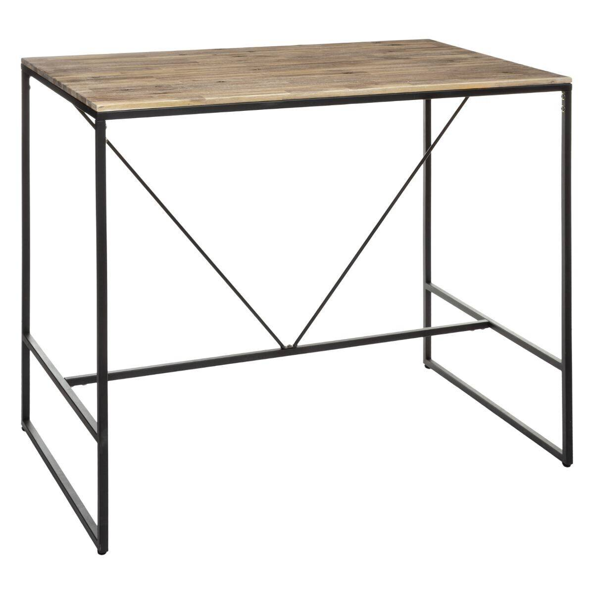 "Atmosphera Table à manger Bar ""Edena"" en bois d'acacia"