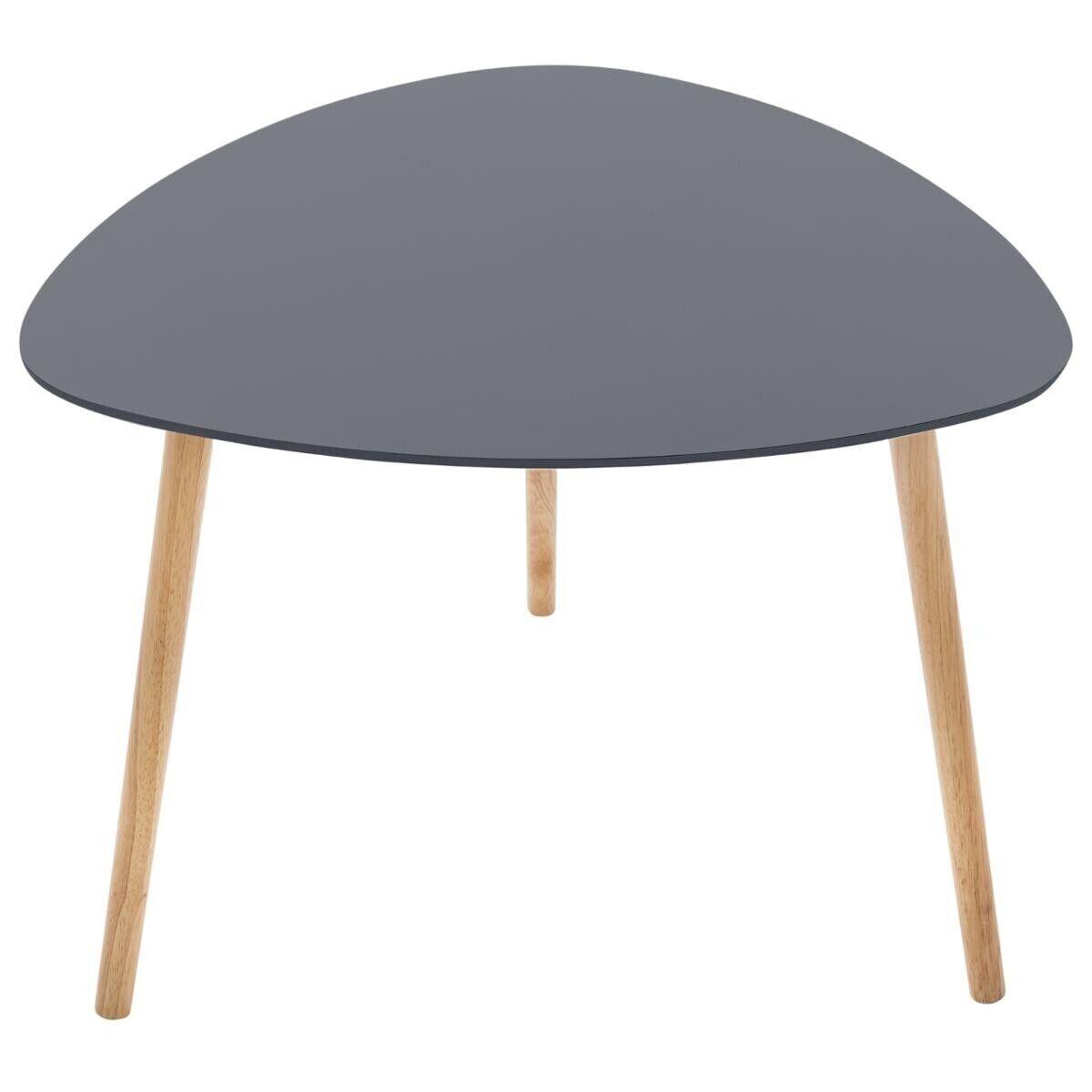 """Atmosphera Table à café Gris foncé """"Mileo"""""""