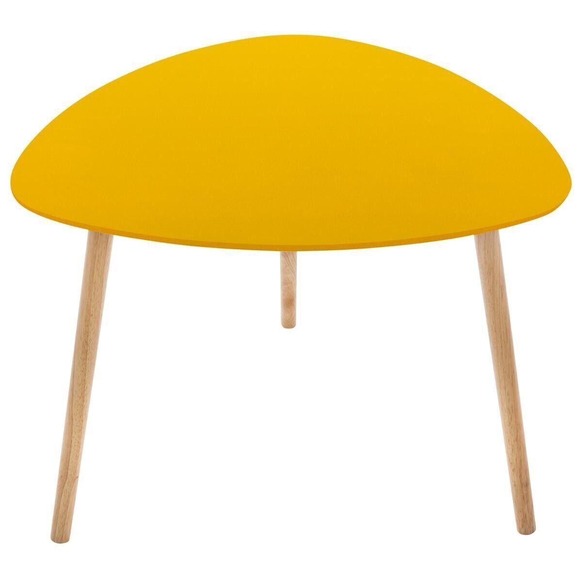 """Atmosphera Table à café Moutarde """"Mileo"""""""