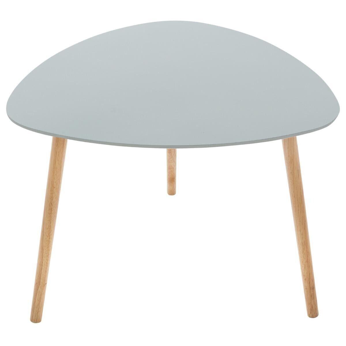 """Atmosphera Table à café Gris clair """"Mileo"""""""
