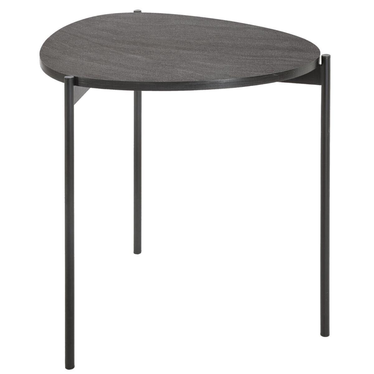 Atmosphera Table d'appoint Gris foncé Petit modèle