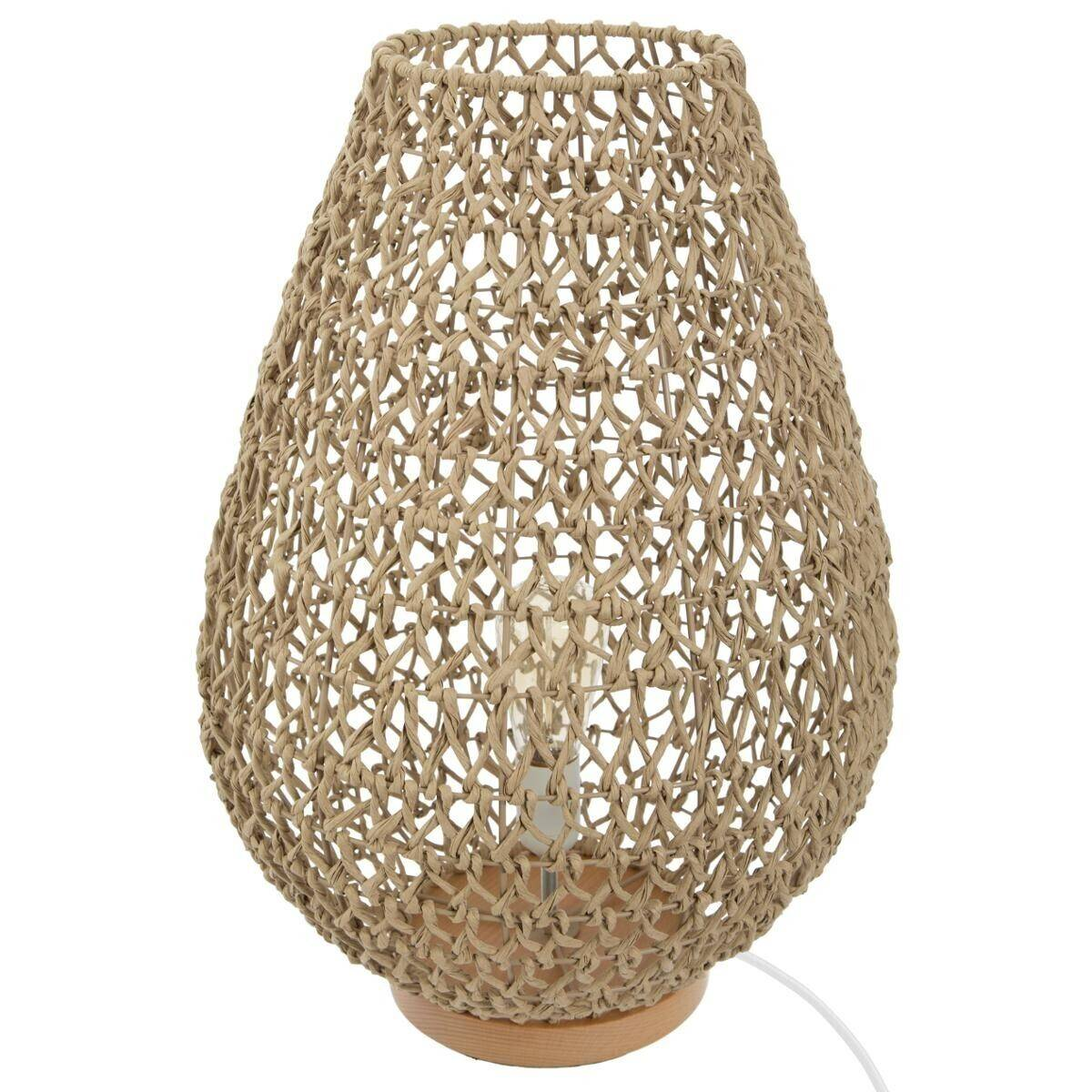 """Atmosphera Lampe """"Etel"""", métal papier H55 cm"""