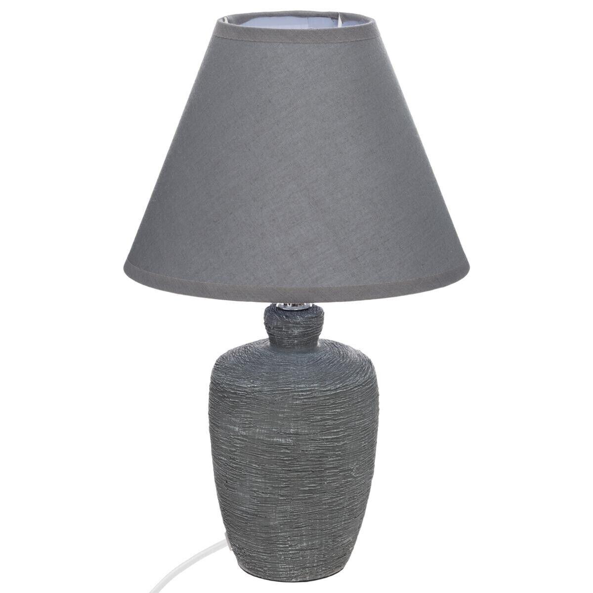 Atmosphera Lampe 'Balvy', céramique H32 cm