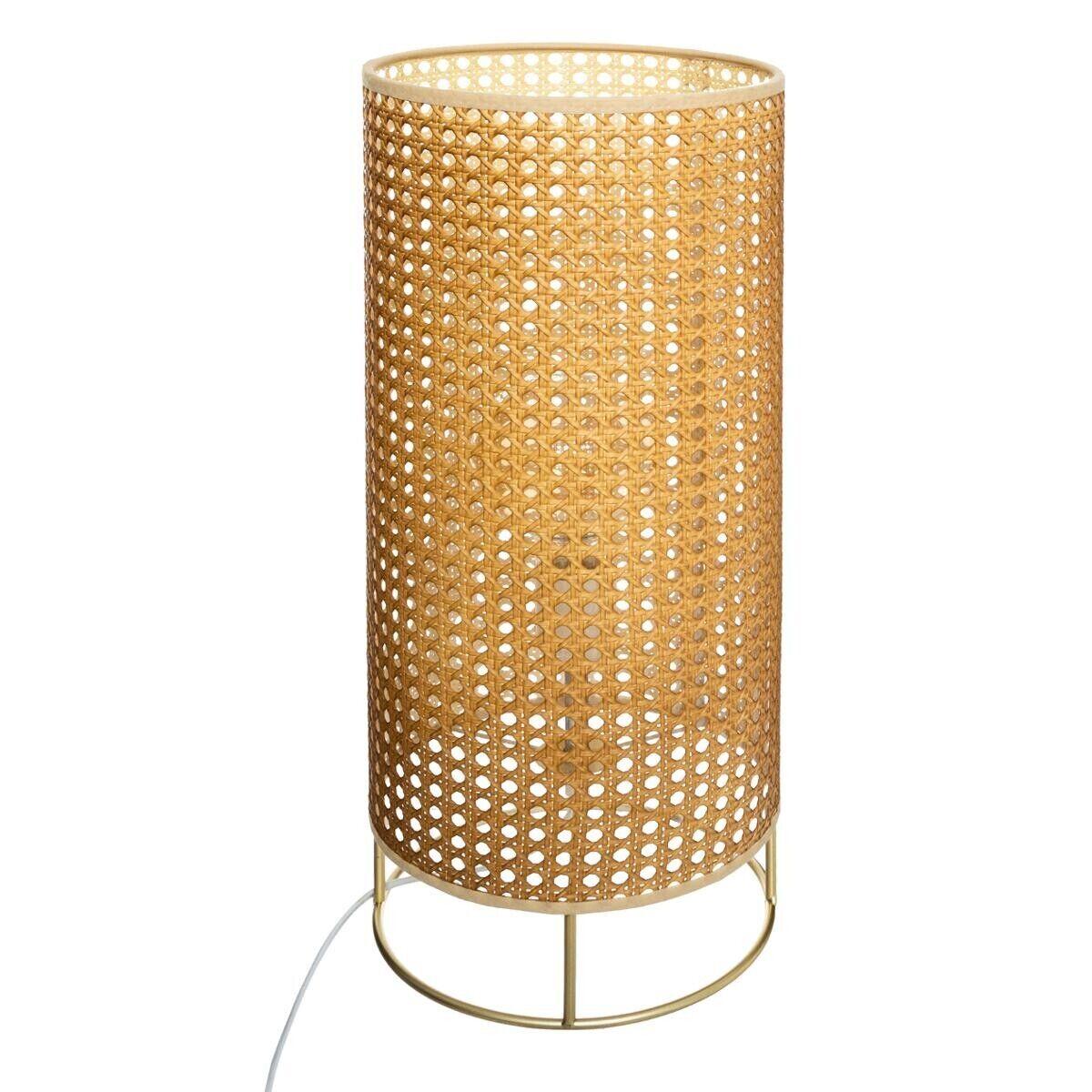 Atmosphera Lampe 'Amel', cannage H52 cm