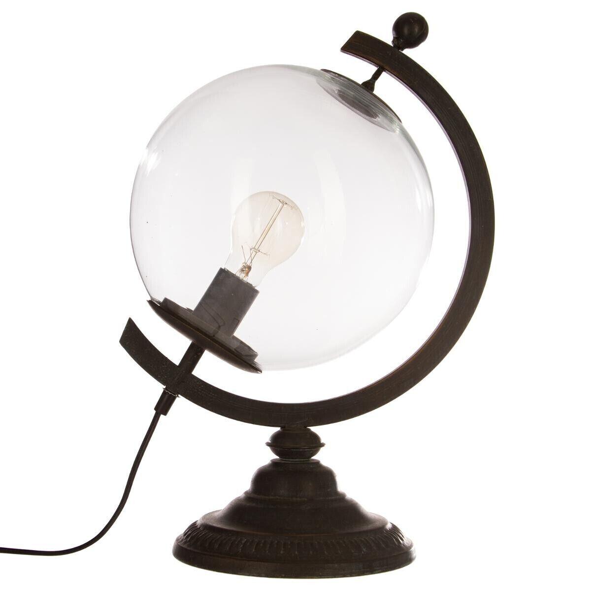Atmosphera Lampe globe 'Gino', H44 cm