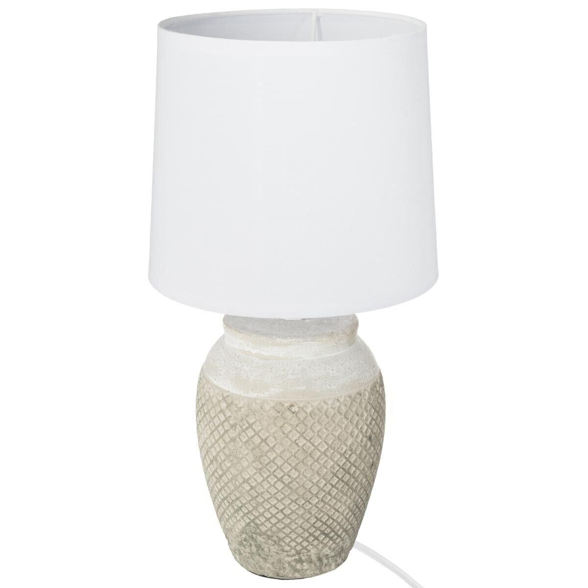 Atmosphera Lampe en céramique H37,5