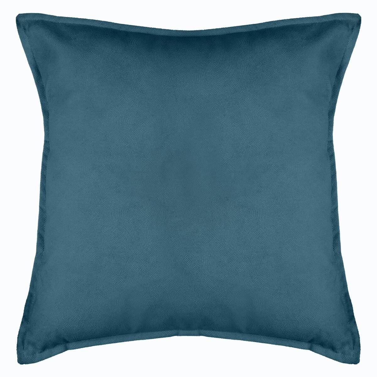 Atmosphera Coussin 'Lilou', bleu 55x55 cm DTE_AH2019 Unisexe
