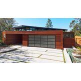 NAO Porte de garage sectionnelle design NAO L 2900 mm x H 3000 mm