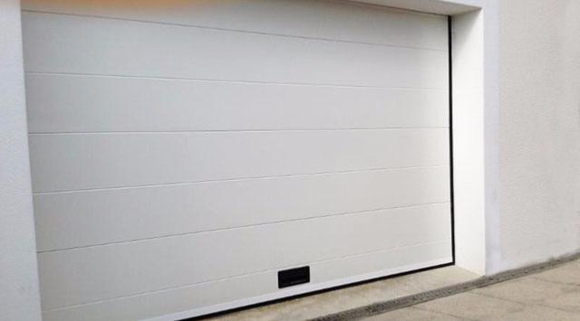 NAO Porte de garage sectionnelle...