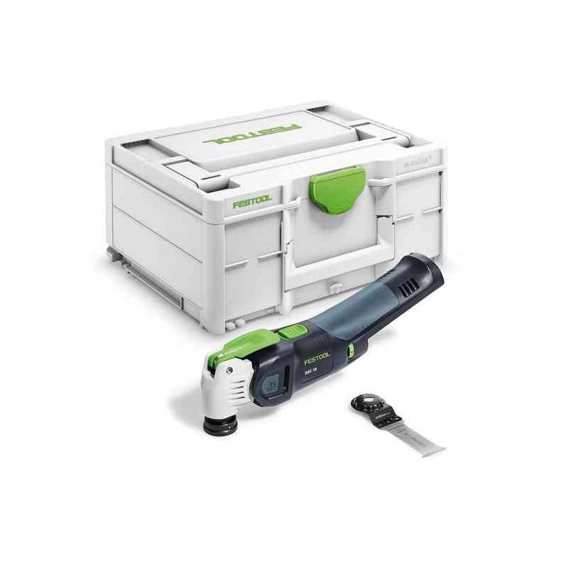 FESTOOL Outil oscillant VECTURO OSC 18 (machine seule) en coffret SYSTAINER - FESTOOL - 576591