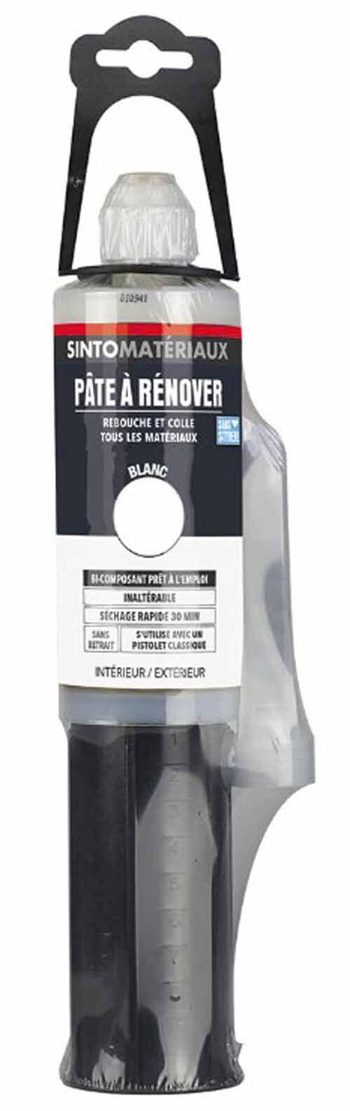 SINTO Pâte à rénover sans styrène + durcisseur - SINTO - 820193