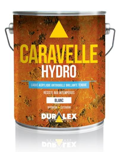 DURALEX Laque acrylique antirouille de finition Caravelle Hydro - DURALEX - 108300111