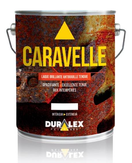 DURALEX Laque brillante antirouille de finition Caravelle - DURALEX - 108100501