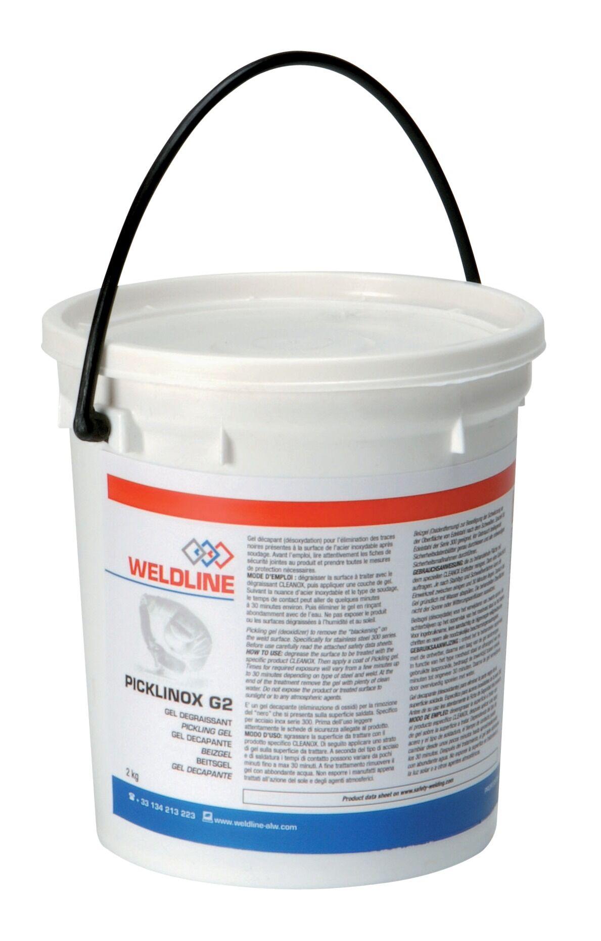 SAF-FRO Décapant pâte PICKLINOX inox 2 kg - SAF-FRO - W000266428 X 2
