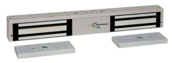 SEWOSY Ventouse double 2 x 500 Kg 24/48 V DC avec contact - SEWOSY - EF550-2CTC/I