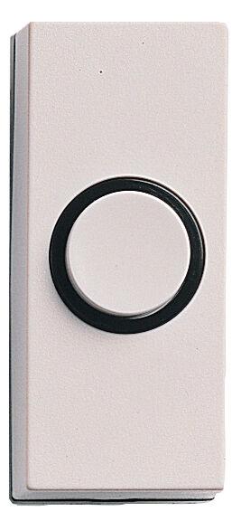 HONEYWELL Bouton poussoir non lumineux blanc SESAME - HONEYWELL - D814