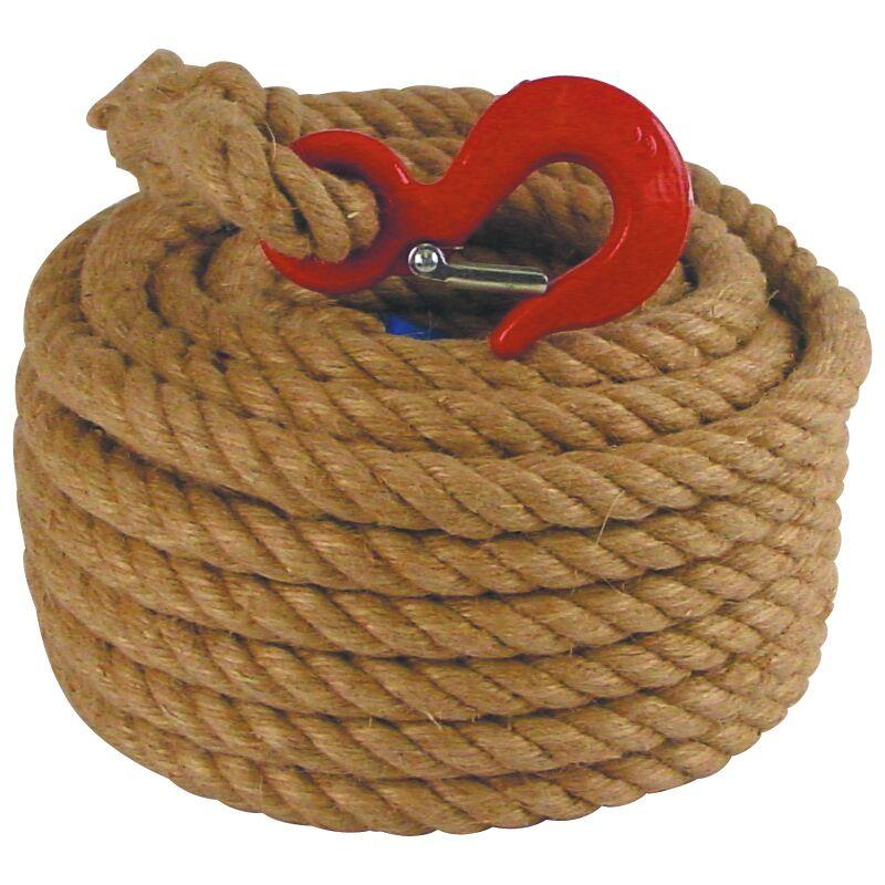SEINE ET LYS Corde poulie chanvre 22mm longueur 20m - SEINE ET LYS - 48902020