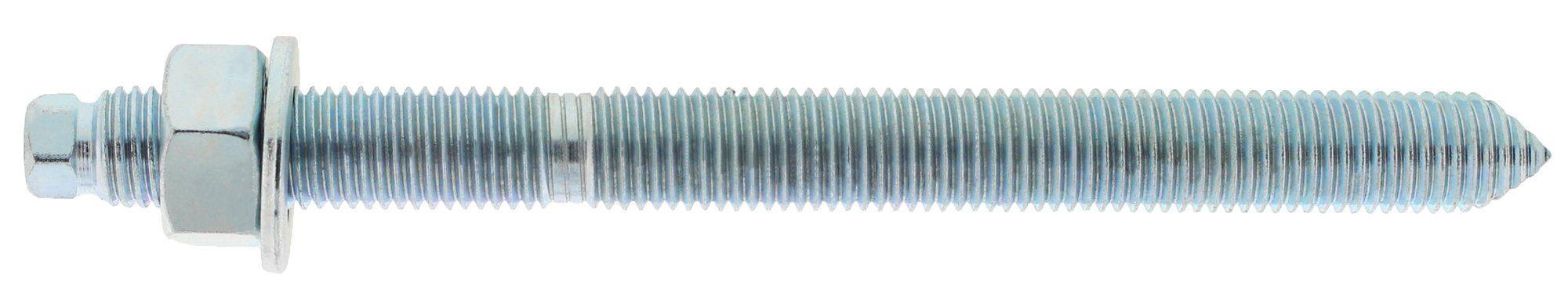 SPIT Boîte de 10 tiges filetées standard zinguées M10 x 130 CL.5.8 + accessoires de pose HEX - SPIT - 60216