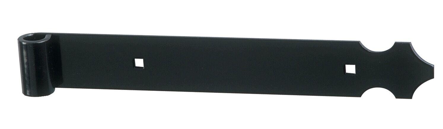TORBEL Contre penture alu noir de 660mm - TORBEL - 11PAC6J