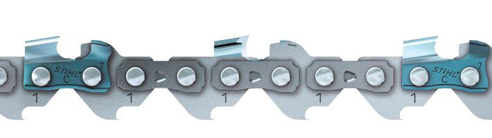 STIHL Chaîne pour tronçonneuse 'Picco Micro 3' 30 cm - 1/4'' P - 1,1 mm - 64 maillons - STIHL - 3670-000-0064