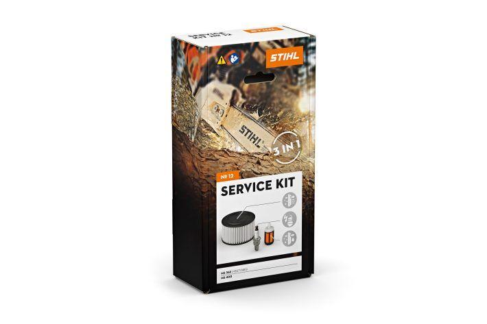 STIHL Kit d'entretien tronçonneuse MS 241 + MS 362 + MS 400 Service kit n°12 - STIHL - 1140-007-4102