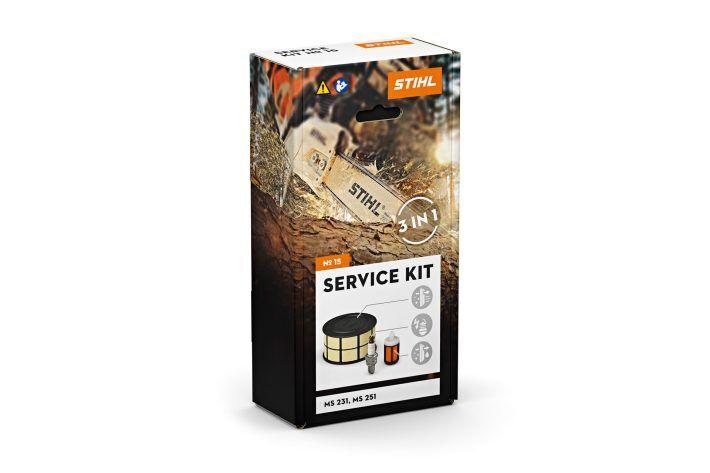 STIHL Kit d'entretien tronçonneuse MS 231 + MS 251 Service kit n°15 - STIHL - 1143-007-4100