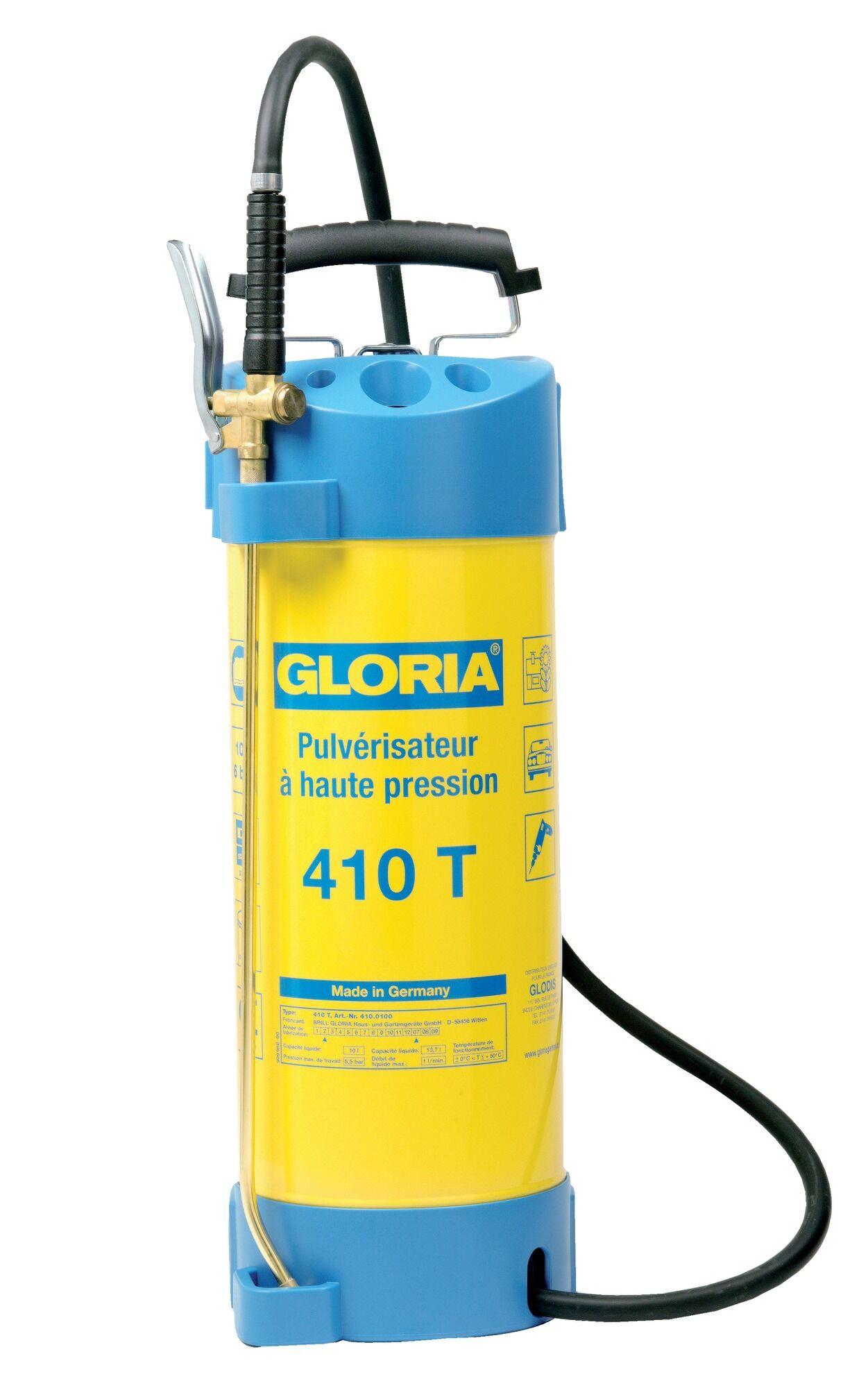 GLORIA Pulvérisateur cuve galva 10 litres - GLORIA - 410T
