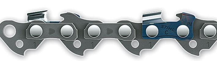 STIHL Chaîne pour tronçonneuse 'Picco Micro Mini 3' - 35 cm - 3/8'' P - 1,1 mm - 50 maillons - STIHL - 3610-000-0050