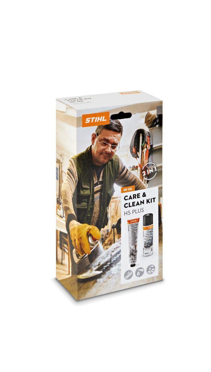 STIHL Kit d'entretien taille-haies Care & Clean kit HS PLUS - STIHL - 0782-516-8604