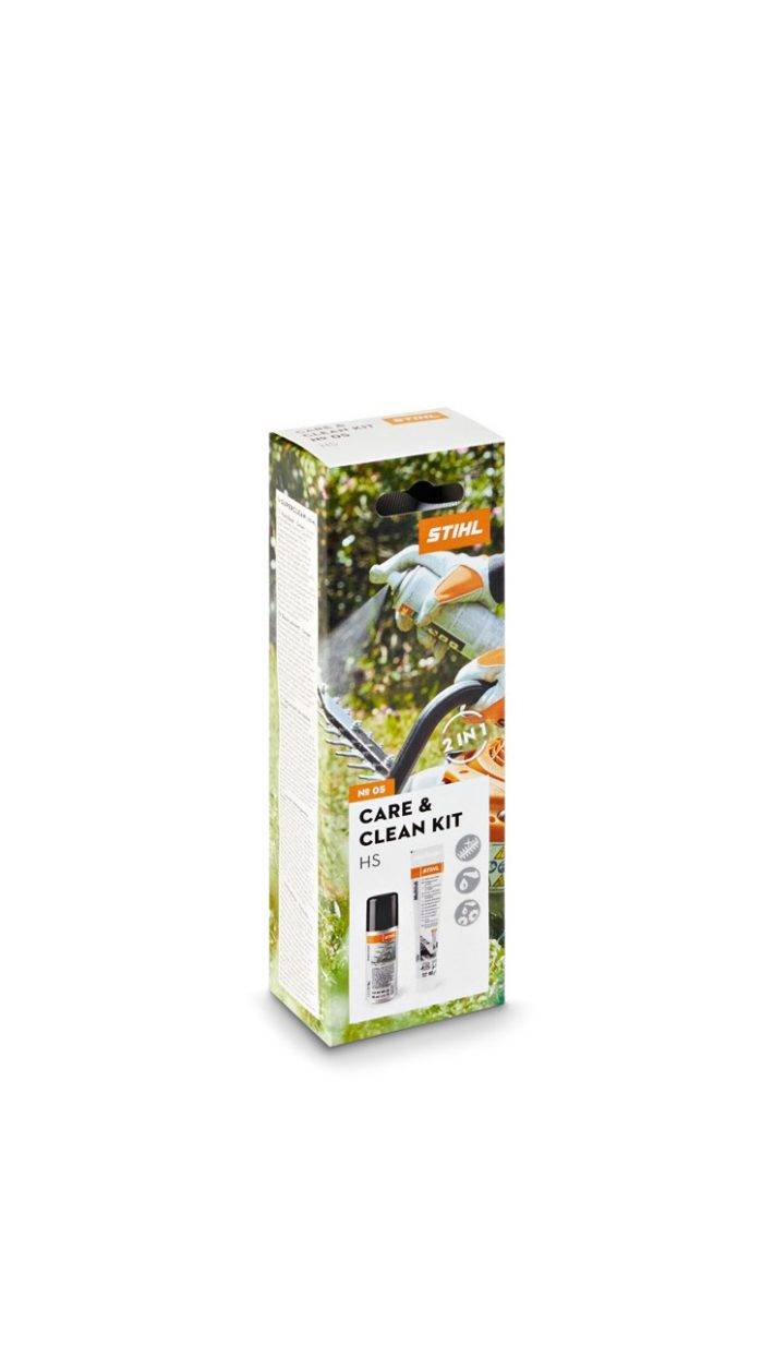 STIHL Kit d'entretien taille-haies Care & Clean kit HS - STIHL - 0782-516-8603