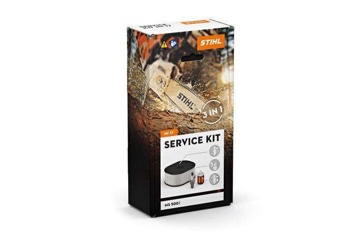 STIHL Kit d'entretien tronçonneuse MS 500i Service kit n°17 - STIHL - 1147-007-4101
