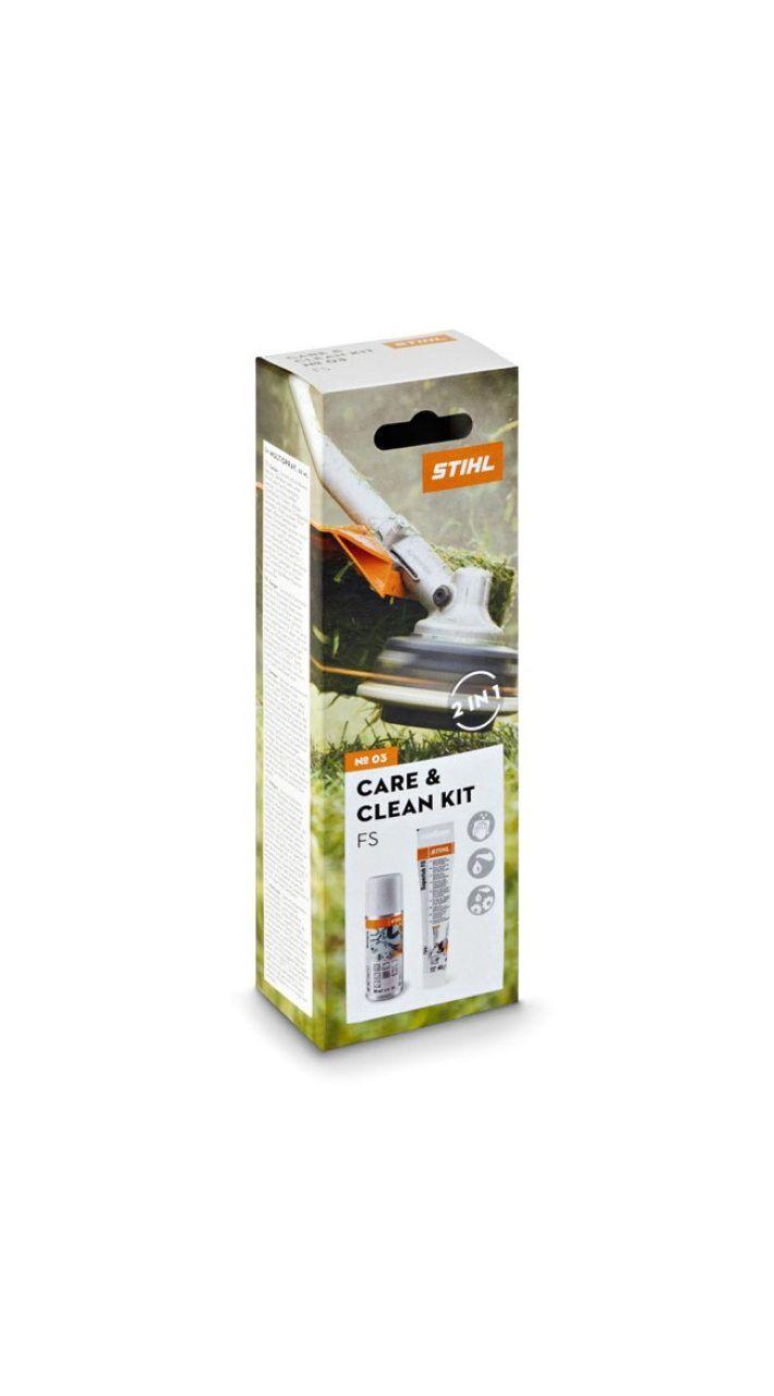 STIHL Kit d'entretien débroussailleuses et coupe-bordures Care & Clean kit FS - STIHL - 0782-516-8601
